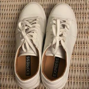 White Express men's sneakers